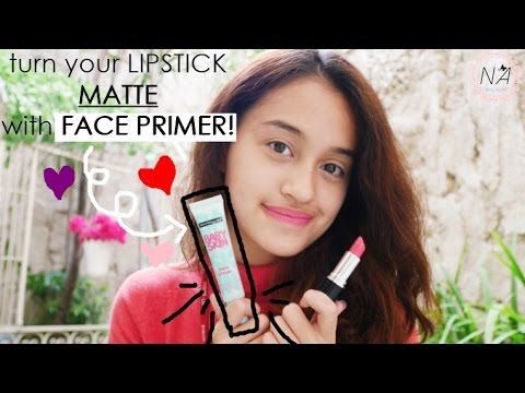 How to Make Your Lipstick Matte Without Drying Your Lips   Nadya Aqilla   Indonesia