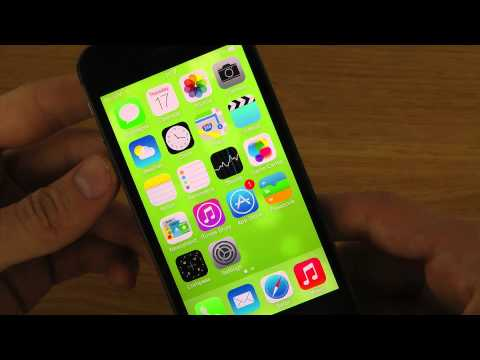 iPhone 5S iOS 7.0.2 - NEW YouTube App 2.2 Update Change Video Quality Review