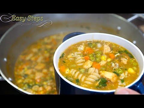 Chicken Soup Recipe   Homemade Delicious Chicken Soup