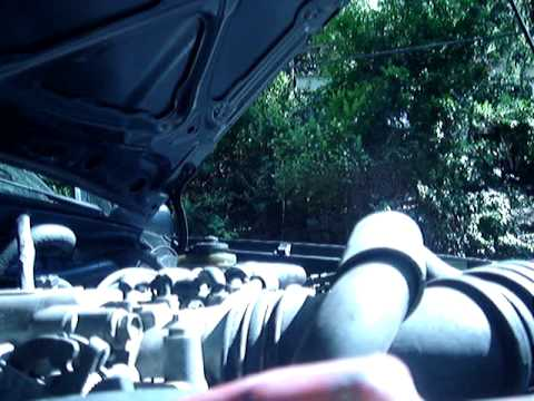 What a broken 22re timing chain sounds like