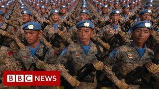 Hong Kong: Protestor shot as China celebrates 70 years of Communism - BBC News