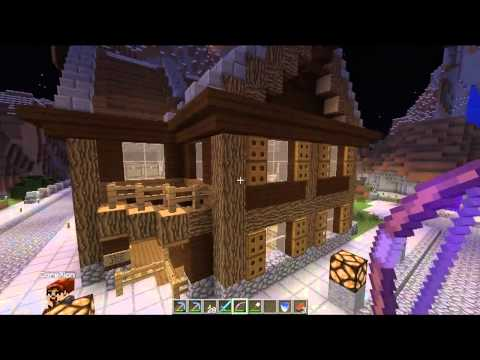 SpawnPoint Minecraft SMP - E05 - Server Tour with Graphoniac