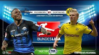 NHẬN ĐỊNH BÓNG ĐÁ. Soi kèo nhà cái Paderborn vs Dortmund. Vòng 29 Bundesliga. Trực tiếp FOX Sports