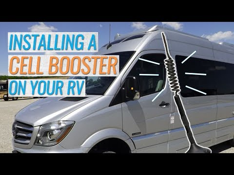 Why You Need A Cellular Signal Booster for your RV
