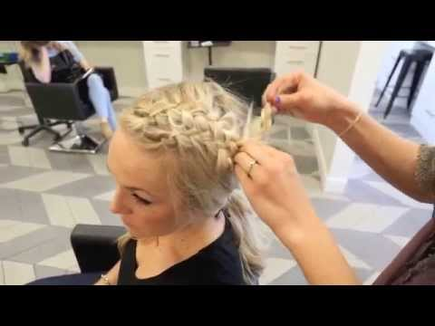 Double Messy French Braid Tutorial - Habit Salon