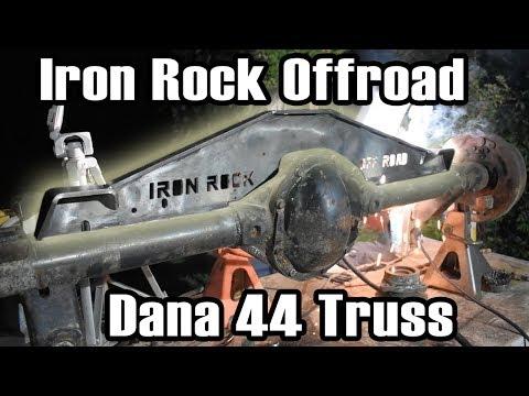 Iron Rock Offroad XJ Dana 44 Truss Install
