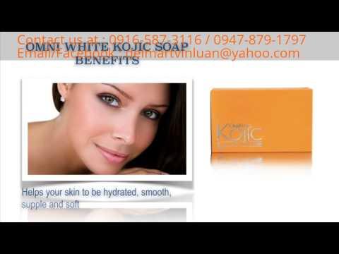 JC Premiere Omni White Kojic Soap