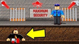 My Wife Found a SECRET TUNNEL to ESCAPE this Creepy Prison... (Roblox)