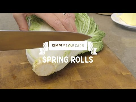 Spring Rolls (Low Carb)
