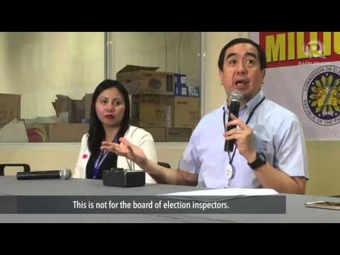 Comelec bans use of cellphones in polling precincts