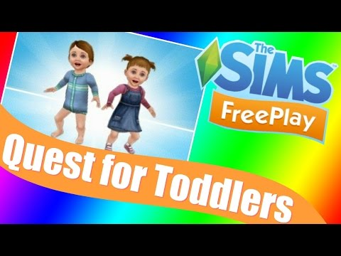 Sims Freeplay   Quest for Toddlers Walkthrough & Tutorial