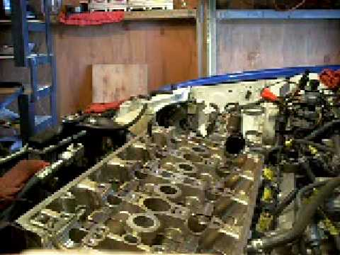 (2of8) Replace H22a Headgasket, valves, and valve seals