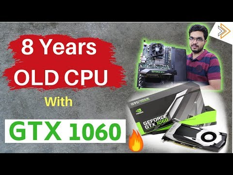 8 Year OLD CPU with GTX 1060 but Incomplete gaming Benchmarks | Errorssss [in HINDI]