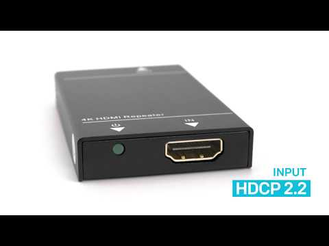 How to convert HDCP 2.2 to 1.4 - Downversion adapter and repeater