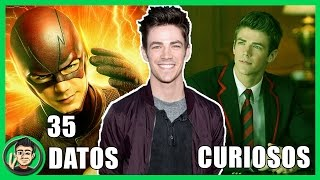 35 Curiosidades Que NO SABIAS Sobre Grant Gustin (The Flash) | ZomByte