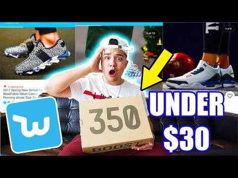 TOP 10 SNEAKERS UNDER $30 FROM WISH 2017!