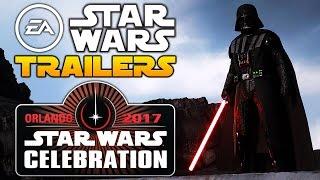 EA Star Wars Battlefront 2 Campaign & Visceral Star Wars Game Trailers At Star Wars Celebration