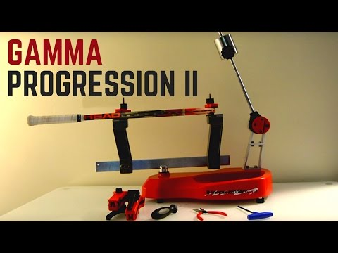 Gamma Progression II Stringing Machine Review & Thoughts