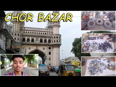 Hyderabad Vlogs | Charminar Chor Bazar | Any Item In Cheap Prices | Sumeet Suthar Vlogs