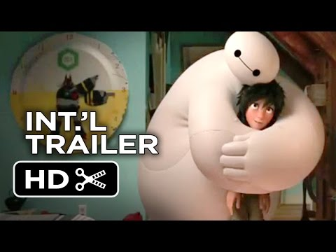 Big Hero 6 Official Japanese Trailer #1 (2014) - Disney Animation Movie HD