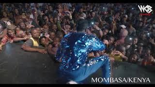 Diamond Platnumz -  Performing live at Mombasa  Part 4 (wasafi festival 2018)