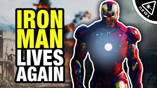 Download Iron Man is Coming Back to the Marvel Cinematic Universe?!? (Nerdist News w/ Markeia McCarty) Video