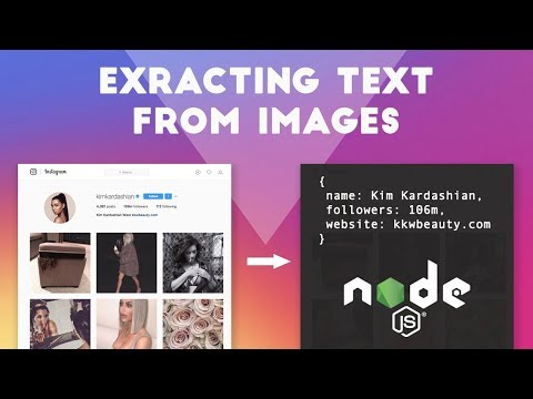 Scraping Instagram with Node.js: Extracting text from images