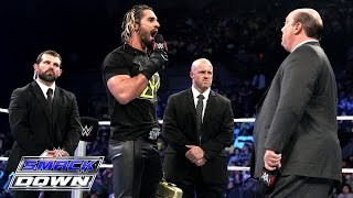 Seth Rollins nearly Curb Stomps Paul Heyman: SmackDown, January 15, 2015
