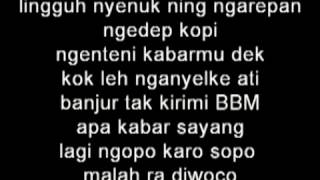 Ndx Feat Pjr Terminal Giwangan Feat Pjr Lirik