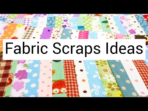 Have fabric scraps?Here's the way to use them up! |如何运用碎布?❤❤