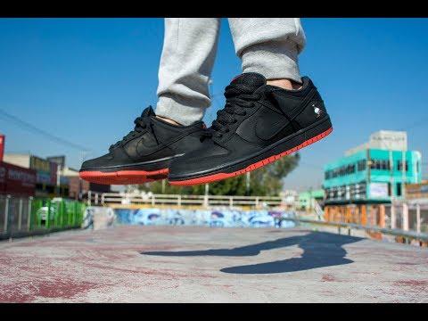 Dunk SB Low: Black Pigeon x Jeff Staple