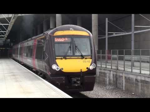 Cross Country 170113 Departs Stansted Airport For Birmingham New Street