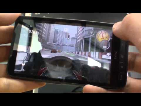 HTC HD2 Android - NEED FOR SPEED : SHIFT
