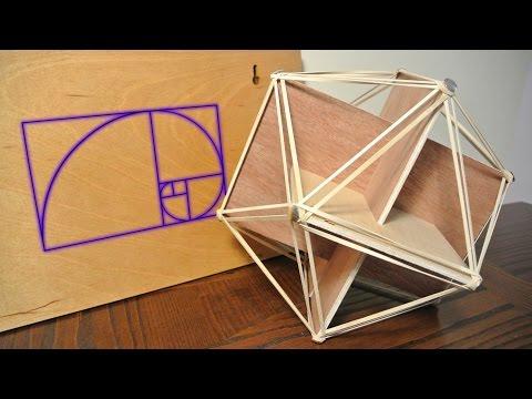 Golden icosahedron
