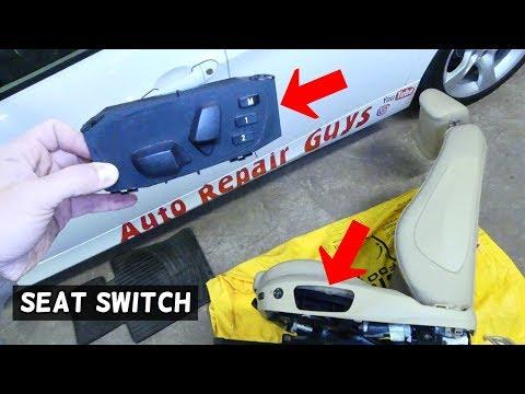 HOW TO REMOVE AND REPLACE SEAT SWITCH ON BMW E90 E91 E92 E93