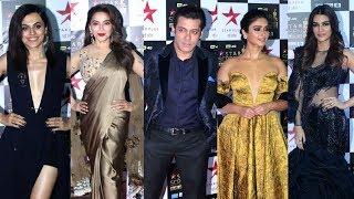 Star Screen Awards 2018 Red Carpet - Salman Khan, Madhuri Dixit, Kriti Sanon, Taapsee Pannu