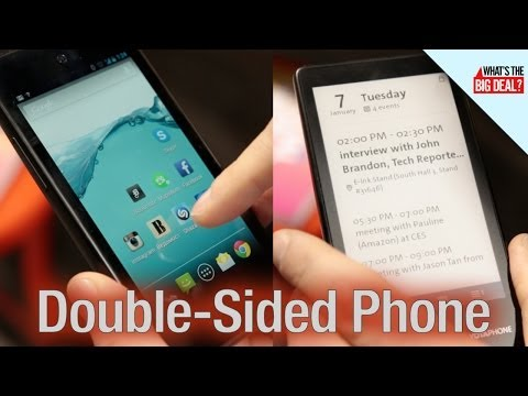 RARE Two-Sided Phone Not Available in the US - CES 2014