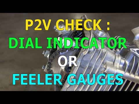 Checking Piston To Valve Clearance With A Dial Indicator Or Feeler Gauges