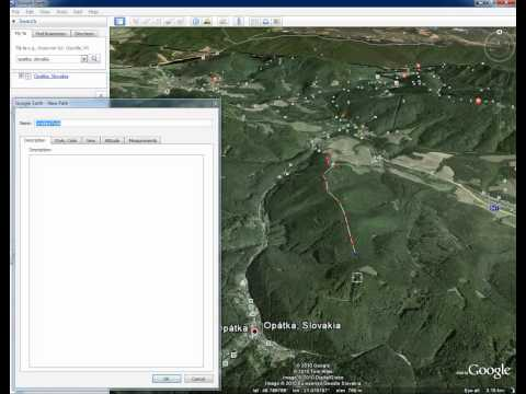 How to create elevation profile in Google Earth 5.2