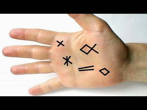 CROSS ON THE JUPITER MOUNT AND OTHER SPECIAL SIGNS ON THE JUPITER MOUNT - PALMISTRY