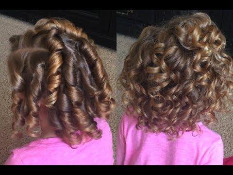 Heatless Curls | Tight Curls to Full Beautiful Curls