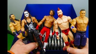 SHREDDING WWE WRESTLER ACTION FIGURES