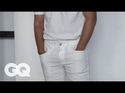 How to Get a Stain out of White Jeans