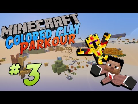 [FR]-COLORED CLAY PARKOUR : JUMP CAM !-[Minecraft 1.8]
