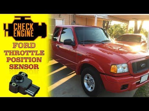DIY replace throttle position sensor 2004 ford ranger