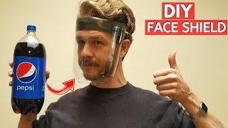 EASY DIY FACE SHIELD MASK from SODA BOTTLE -Jonny DIY