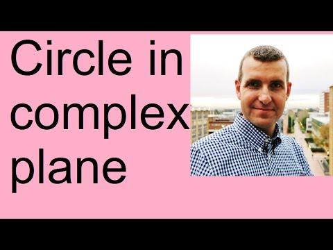 Circle in Complex Plane