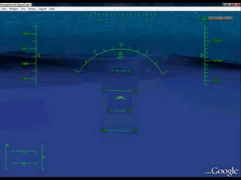 Google Earth Flight Simulator | Underwater Flying Glitch 2