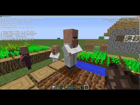 How To Make a Iron Golem Factory in Minecraft