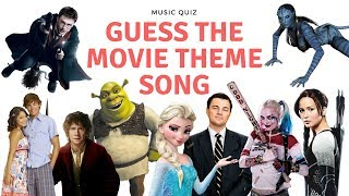 MOVIE THEME SONG QUIZ! Only the best from 2000-2018 movies